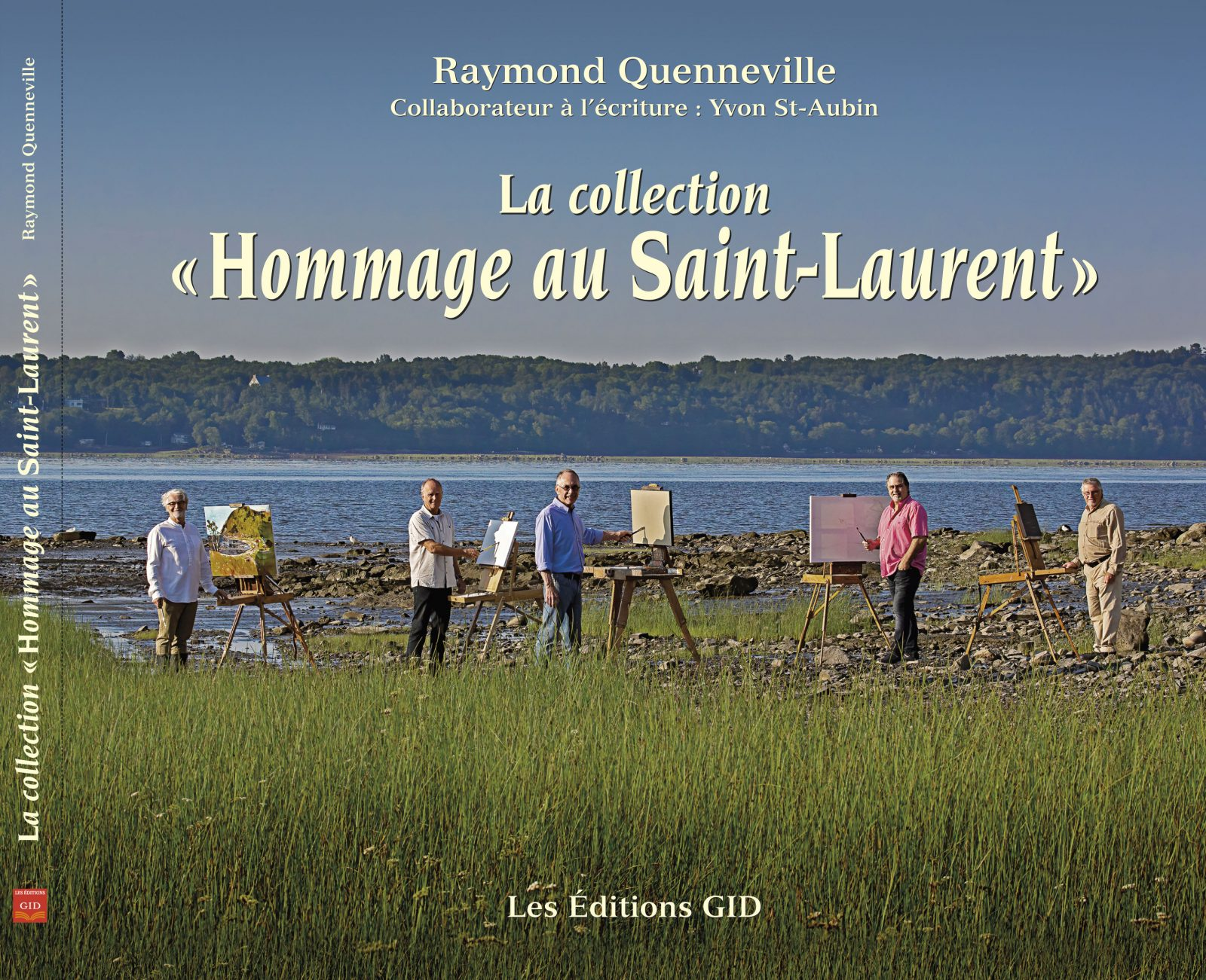 Le livre «La collection Hommage au Saint-Laurent» en vente